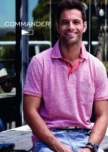 T-Shirt and Polos <br> Commander flag